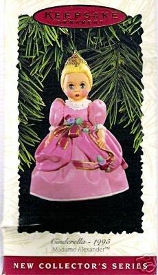 HALLMARK 1996 Madame Alexander #1 CINDERELLA Ornament