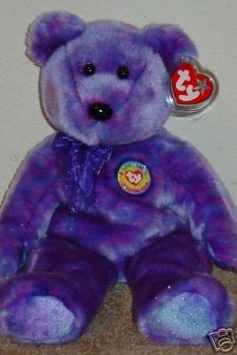 Ty CLUBBY IV 4 Beanie Bear Buddy Plush