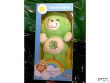 GOOD LUCK Plush Care Bear COLLECTOR'S EDITION in BOX