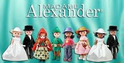 McDonalds 2002 Madame ALEXANDER Set of 8 dolls-SEALED
