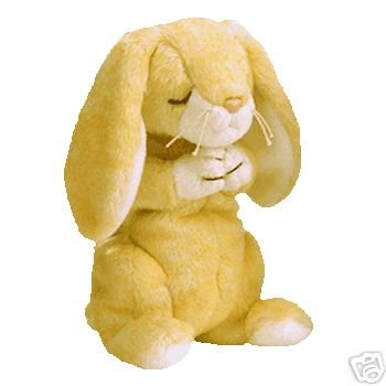 Ty GRACE Beanie Baby Praying Rabbit Bunny- New