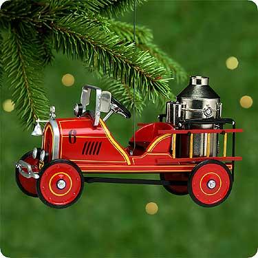 1924 Toledo Fire Engine #6 Hallmark Ornament 2000