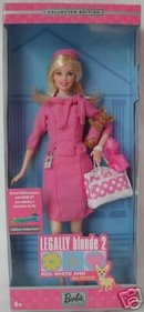2003 Barbie as Elle Woods in Legally Blonde 2 Reese Witherspoon
