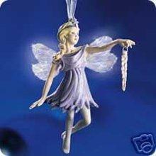 Frostlight Faeries DELANDRA Hallmark Ornament Fiber Optic Fairy
