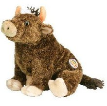 JERSEY Ty Beanie Baby Bull BEANIE OF THE MONTH
