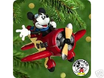 Disney MICKEY'S SKY RIDER Hallmark Ornament 2000