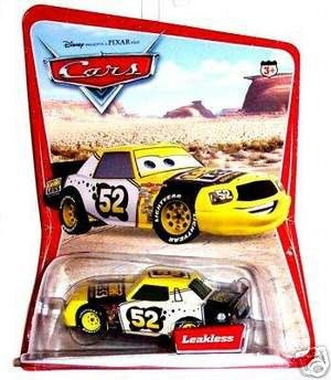 LEAKLESS Disney Die Cast CARS Pixar Diecast Hard To Find