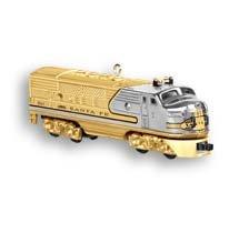 2006 Hallmark LIONEL Gold Locomotive REPAINT~COLORWAY