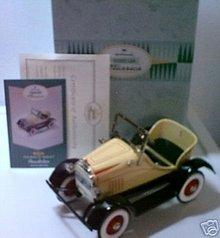 1929 Steelcraft Roadster Murray Pedal Car~Kiddie Car Classics Hallmark