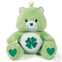 JUMBO Good Luck Bear Care Bears Plush