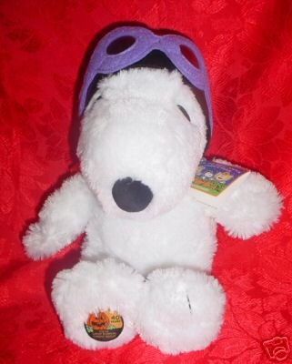 2006 Halloween Plush SNOOPY FLYING ACE~Peanuts 40 Years Anniversary~Hallmark