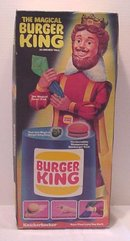 Knickerbocker Magical BURGER KING Doll ~1980 in box~Vintage Toy