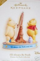 I'LL ALWAYS BE POOH Limited Edition Disney 2006 Hallmark Christmas Ornament