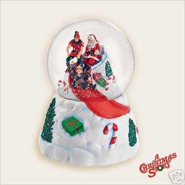 2006 Hallmark Snow Globe A CHRISTMAS STORY with SOUND! Snowglobe