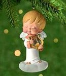 CHRYSANTHA~Mary's Angels #14 Hallmark Ornament  Angel Series