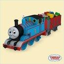 Thomas Tank Engine Train Hallmark set of 2 Ornaments CHEERY CARGO 2006