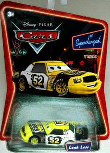 LEAKLESS Disney Die Cast CARS Pixar Diecast SUPERCHARGED