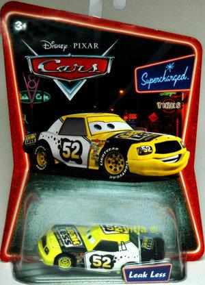 LEAKLESS Disney Die Cast CARS Pixar Diecast SUPERCHARGED