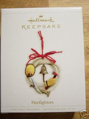 FIREFIGHTERS Hallmark 2006 Ornament Firemen Fireman