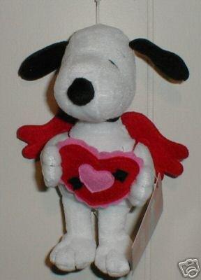 VALENTINE SNOOPY New Plush Dog~Peanuts~Hallmark
