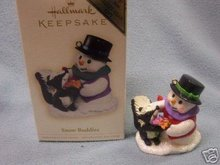 SNOW BUDDIES Repaint/Colorway Club Exclusive 2006 Hallmark Ornament