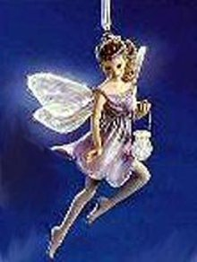 Frostlight Faeries BRILLIANA Hallmark Ornament Fiber Optic Fairy 2001