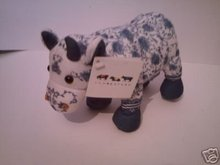 CHINA COW Plush Cow Parade Soft Collectible Toy