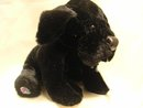 WEBKINZ~BLACK LAB~LARGE Labrador Puppy Dog~Sealed Tag