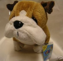 WEBKINZ~BULL DOG~Large Puppy Dog~Sealed Tag~Secret Code