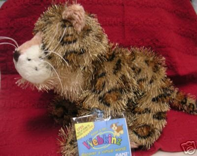 WEBKINZ LEOPARD~Interactive Pet~Sealed Tags~Secret Code~New