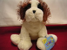WEBKINZ ST. BERNARD~Retired LARGE Dog~Sealed Tags~Secret Code
