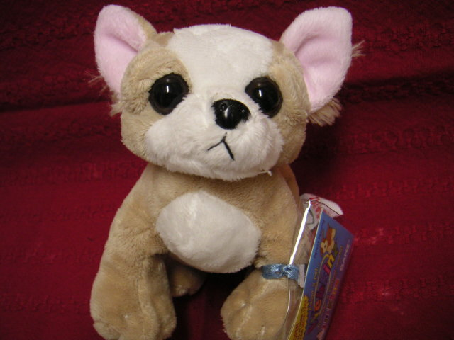 WEBKINZ CHIHUAHUA~LIL' KINZ~Interactive Pet Dog~Sealed Tags~Secret Code~New Puppy
