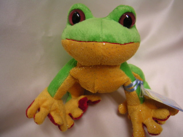 WEBKINZ TREE FROG~LIL' KINZ~Interactive Pet~Sealed Tags~Secret Code~New!