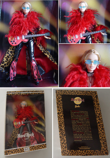 Hard Rock Cafe BARBIE Doll #1 Rare & Retired