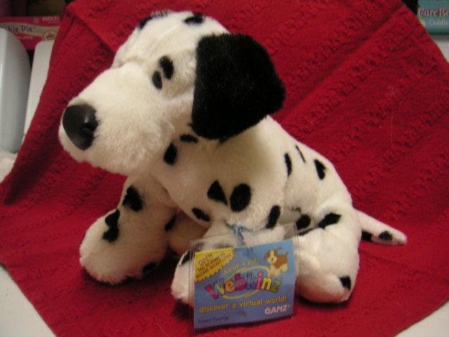 WEBKINZ~DALMATIAN~Large Soft/Puppy Dog~Sealed Tag~Secret Code
