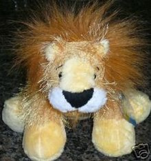 WEBKINZ~LION~Sealed Tag~SECRET CODE~1st Edition:No Magic W on Foot