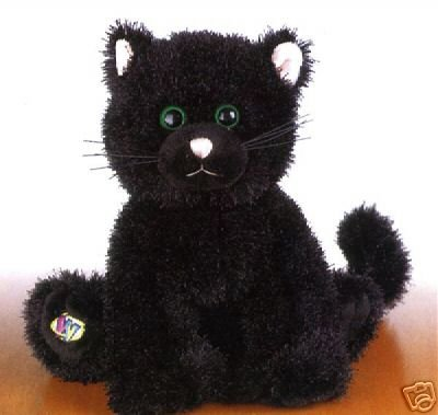 WEBKINZ~BLACK CAT~Sealed Tag~Secret Code~IN STOCK