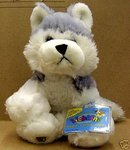 WEBKINZ~Siberian HUSKY Dog~Sealed Tag~Secret Code