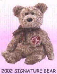 2002 Ty SIGNATURE Beanie Baby