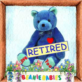 Ty DAD-e Beanie Baby -Retired