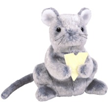 Ty CHEDDAR the MOUSE Beanie Baby-Retired