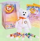 Ty COLOR ME BEANIE BABY KIT