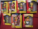 7 SIMPSONS Christmas Ornaments New in Boxes