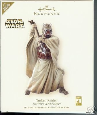 2007 Hallmark~STAR WARS~Tusken Raider LIMITED ED Ornament