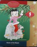 Carlton Ornament Betty Boop Queen of the Slopes MAGIC