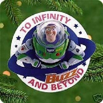 Hallmark TOY STORY~BUZZ LIGHTYEAR~ Disney~2000 Ornament~RARE