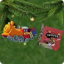 2001 TOOTLE TRAIN Ornament + Golden Book