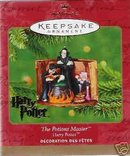THE POTIONS MASTER~HARRY POTTER~Hallmark 2001 Ornament