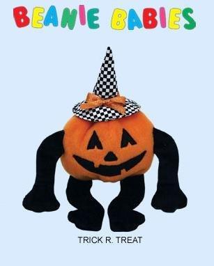 Ty Halloween TRICK R. TREAT~Witch Pumpkin Beanie Baby