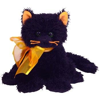 7714f2d90f6 Ty Halloween MOONLIGHT Beanie Baby BLACK CAT